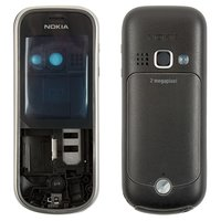Housing for Nokia 3720c Cell Phone, (black, high copy)