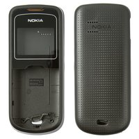 Housing for Nokia 1202 Cell Phone, (black, high copy)