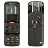 Housing for Sony Ericsson W850 Cell Phone, (black, high copy, with keyboard)