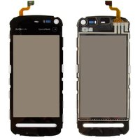 Touchscreen for Nokia 5800 Cell Phone, (black, copy)