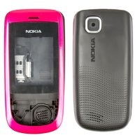 Housing for Nokia 2220s Cell Phone, (pink, high copy)