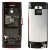 Housing for Nokia X2-00 Cell Phone, (red, high copy)