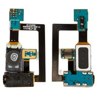 Handsfree Connector for Samsung I9000 Galaxy S, I9001 Galaxy S Plus Cell Phones, (with flat cable, with speaker)