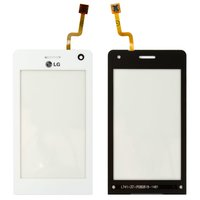 Touchscreen for LG KU990 Cell Phone, (white)