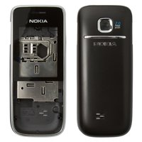 Housing for Nokia 2730c Cell Phone, (black, high copy)