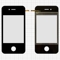 Touchscreen for China-iPhone 4, 4s Cell Phones, ((113*56 mm), 81 mm, type 3, (65*49mm)) #MA-0532A