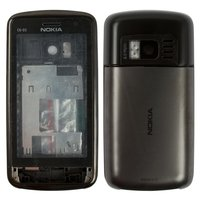 Housing for Nokia C6-01 Cell Phone, (black, high copy)