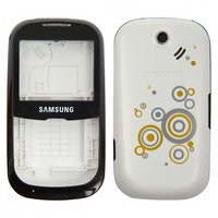 Housing for Samsung B3210 Cell Phone, (white, high copy)