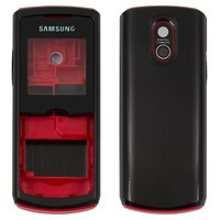 Housing for Samsung E2120, E2121 Cell Phones, (red, high copy)