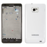 Housing for Samsung I9100 Galaxy S2 Cell Phone, (white)