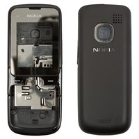 Housing for Nokia C2-00 Cell Phone, (black, high copy)