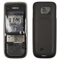 Housing for Nokia C2-01 Cell Phone, (black, high copy)