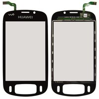 Touchscreen for Huawei U8220 Cell Phone, (black)