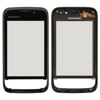 Touchscreen for Huawei U8230 Cell Phone, (black, with front panel) #TM1319 940-482-4RA