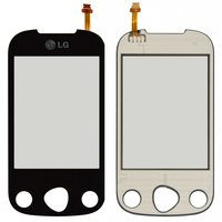 Touchscreen for LG C330 Cell Phone, (black)