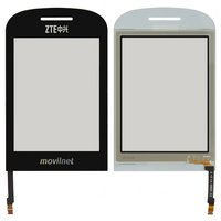 Touchscreen for ZTE S550 Cell Phone, (black)