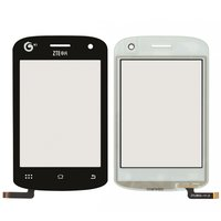 Touchscreen for ZTE U802 Cell Phone, (black)