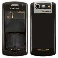 Housing for Blackberry 8110, 8120 Cell Phones, (black, high copy)