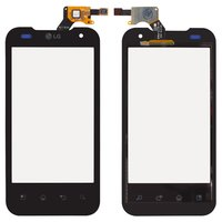 Touchscreen for LG P990 Cell Phone, (black)