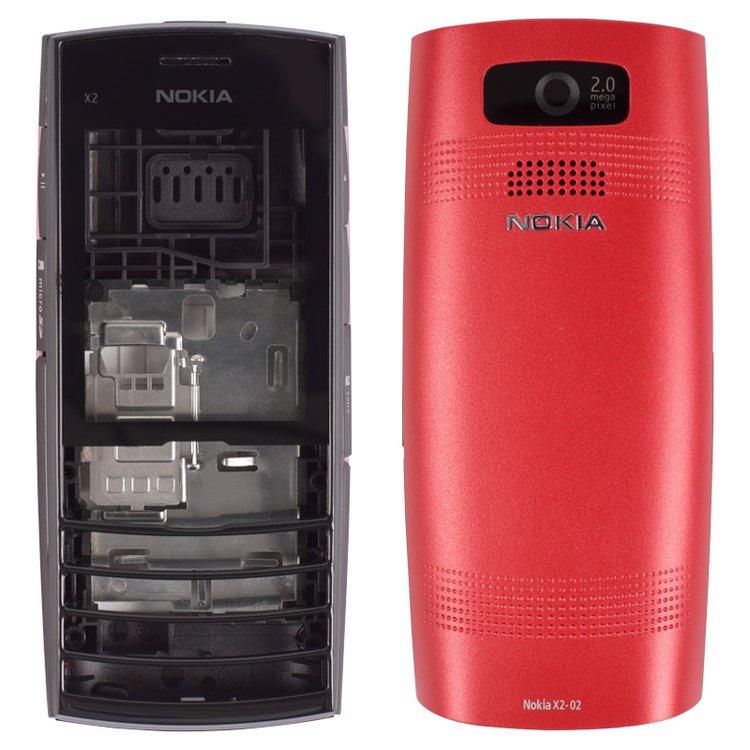 Carcasa para celular Nokia X2-02, rojo, copia AAA. Tienda online ...