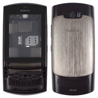 Housing for Nokia 303 Asha Cell Phone, (grey, high copy)