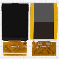 Pantalla LCD para celulares China-Nokia E71 TV, E72 TV; China-Maxtron MG285, 37 pin, (69*50), #AS2830FPC-A1