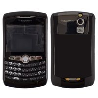 Housing for Blackberry 8310 Cell Phone, (black, high copy)