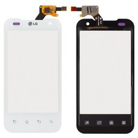 Touchscreen for LG P990 Cell Phone, (white)