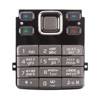 Keyboard for Nokia 6300 Cell Phone, (bronze, russian)