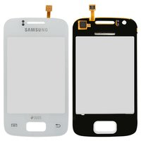 Touchscreen for Samsung S6102 Galaxy Y Duos Cell Phone, (white)