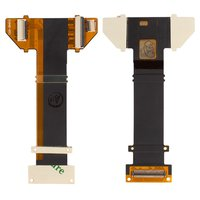 Flat Cable for Sony Ericsson R800, Z1 Cell Phones, (copy, for mainboard, with components)