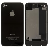 Housing Back Cover for Apple iPhone 4S Cell Phone, (black, high copy, with component)