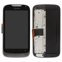 LCD for Huawei U8680 Cell Phone, (black, with touchscreen, with front panel)