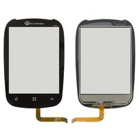 Touchscreen for ZTE N720; Miromax A60 Cell Phones, (black)