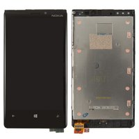 LCD for Nokia 920 Lumia Cell Phone, (with touchscreen, with frame)