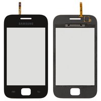Touchscreen for Samsung S6352, S6802 Cell Phones, (black)
