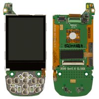 LCD for Samsung D500, D500E Cell Phones, (with board)
