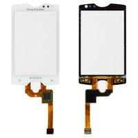 Touchscreen for Sony Ericsson ST15 Cell Phone, (white)