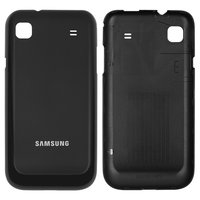 Battery Back Cover for Samsung I9003 Galaxy SL Cell Phone, (black)