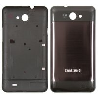 Battery Back Cover for Samsung I9103 Galaxy R Cell Phone, (black)
