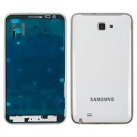 Housing for Samsung I9220 Galaxy Note, N7000 Note Cell Phones, (white)