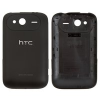 Housing Back Cover for HTC A510e Wildfire S, G13 Cell Phones, (black)