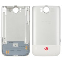 Housing Back Cover for HTC G21, X315e Sensation XL Cell Phones, (white)