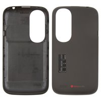Housing Back Cover for HTC T328w Desire V Cell Phone, (black)