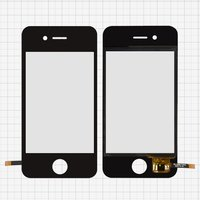 Touchscreen for China-iPhone 4, 4s Cell Phones, (black, capacitive, (112*56mm), 89 mm, type 2, (74*50mm)) #SU-T035M-FPCV1