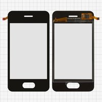 Touchscreen for China-iPhone 4, 4s Cell Phones, (black, capacitive, (109*57mm), 90mm, type 4, (75*50mm)) #MG-035-017-FPC-V0.3
