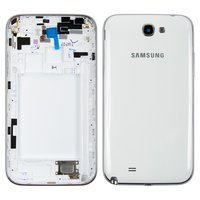 Housing for Samsung N7100 Note 2 Cell Phone, (white)