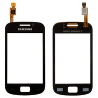 Touchscreen for Samsung S6500 Galaxy Mini 2 Cell Phone, (black)