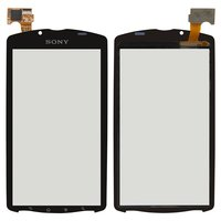 Touchscreen for Sony MT25 Xperia Neo L Cell Phone, (black)