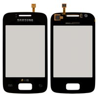 Touchscreen for Samsung S6102 Galaxy Y Duos Cell Phone, (black)